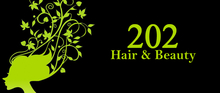 Click here to make an appointment; www.202hairandbeauty.com