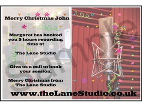 The Lane Studios Gift Voucher
