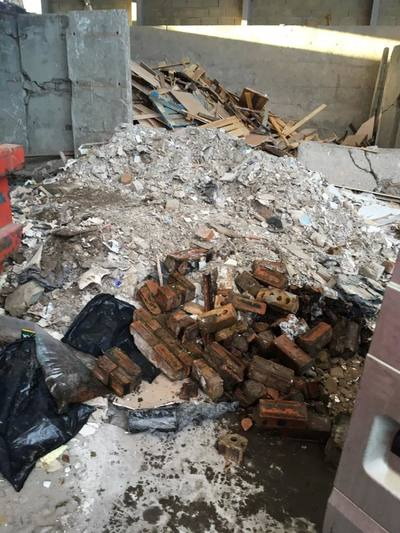 rubble removal East Lothian